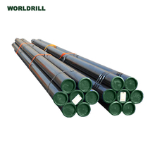 hydraulic water well drilling steel price api dth 2 3/8 76mm drill pipe for sale