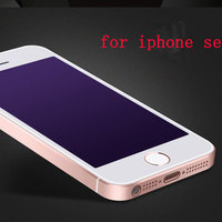 Anti blue ray tempered glass screen protector for iphone 5