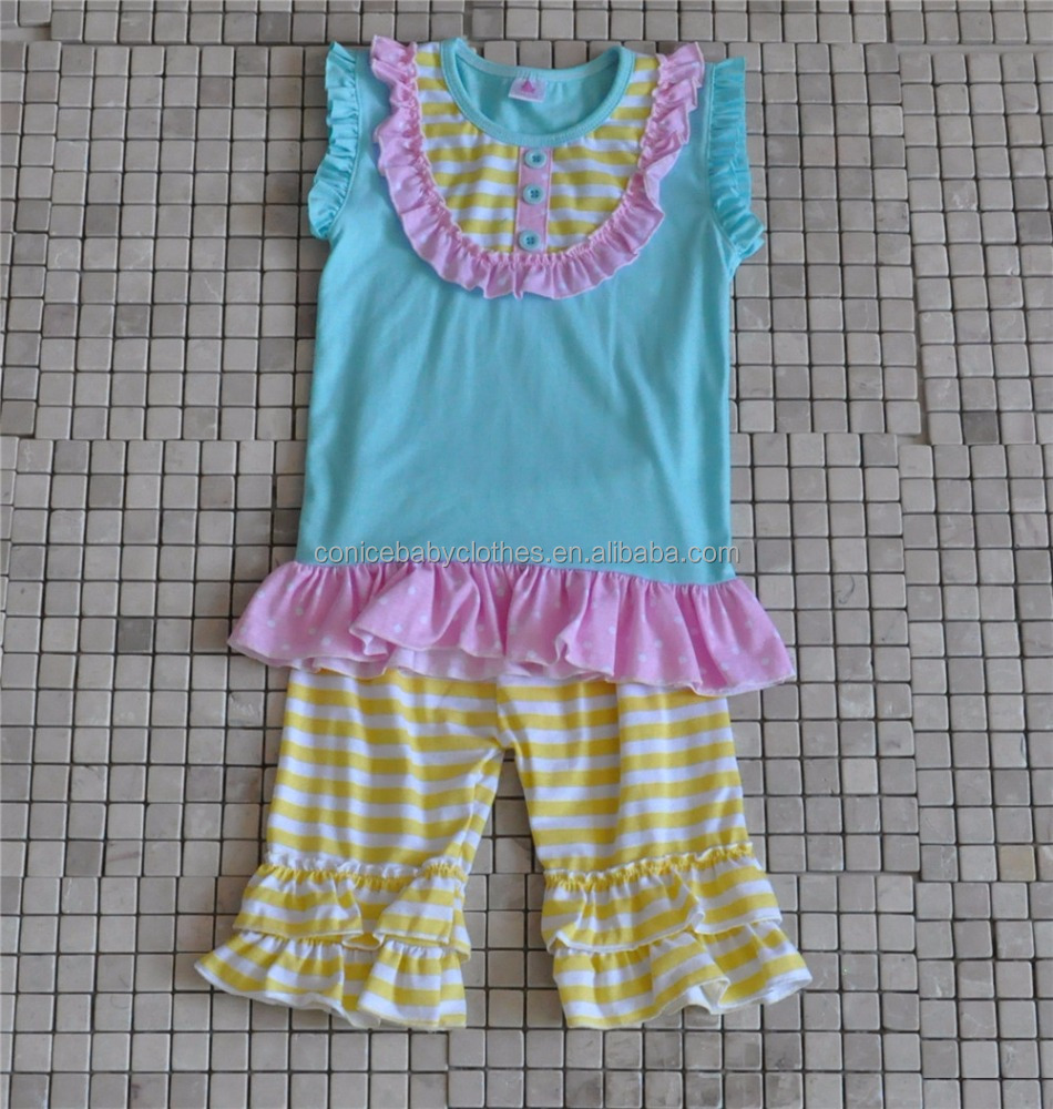 2016 GIGGLE MOON REMAKE DESIGNS OUTFITS WHOLESALE SUMMER GIRLS BOUTIQUE OUTFITS