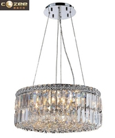 Modern Popular Decorative Crystal Chandelier Glass Ceiling Hanging Pendant Lamp Light Lighting for Wedding Decoration CZ9223/500