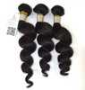Queen Rose Brazilian Hair Extensions Loose Wave Weft Weave Human Virgin Hair 5A Quality Unprocessed #1B