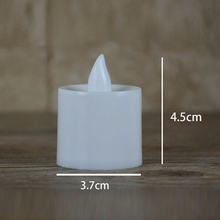 Battery powered Small Electric Faux Votive Tealights candle
