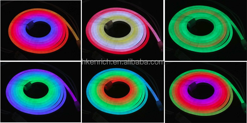 DC24V chasing colorful led neon