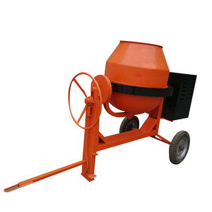 350L cement concrete mixer by diesel engine