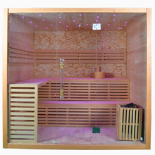 Total steam sauna room outdoor
