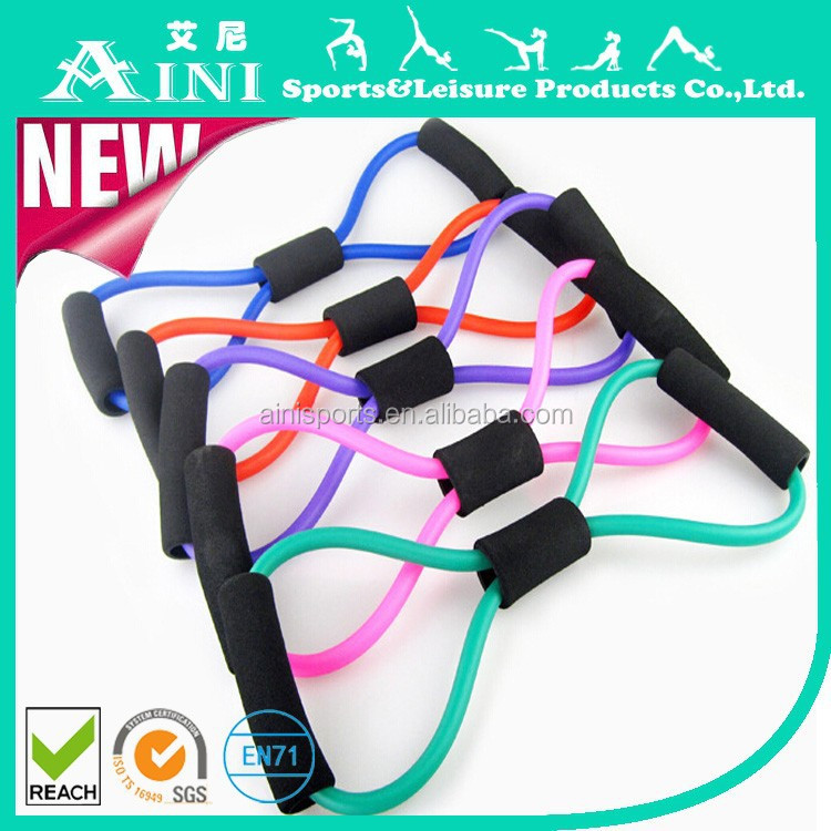 Selling factory direct sale Yoga pull rope chest expander Household exercise Tubing machines