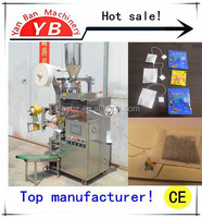 2015 best sealing fully Automatic Inner bag + Thread + Tags + Envelope packing machine