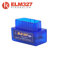 Clear trouble codes and turn off the MIL obdii scanner ELM327 Bluetooth obdii plastic case