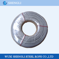 PVC Coated Galvanized Steel Wire Rope 7x7 for Control