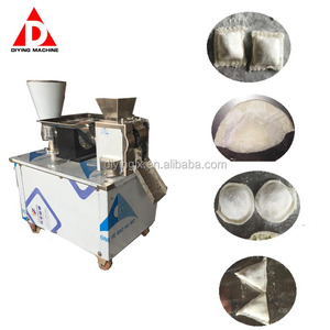 Boiled Steamed Fried Lace Square Dumpling Samosa Spring Roll Molding Forming Making Maker Machine Manufacturer In China