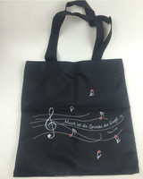 Printed 600d Polyester Canvas Tote Bag