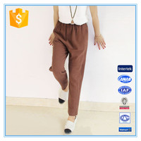 Fashion Cotton Fabric Ladies Trouser Cutting Harem Pants