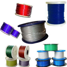 8 strand PVC coated steel wire rope