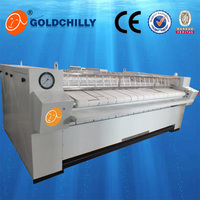 electric/steam/gas heating automatic linen flat press ironing machine