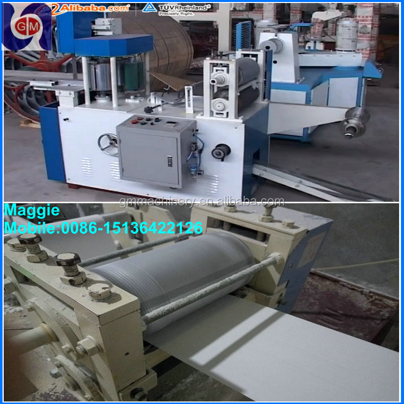 napkin paper folder machine clor printing and embossing 1/4 folded table napkin machine