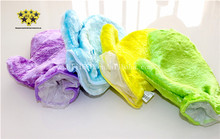 China Supplier Natural Microfiber Wood Fiber Super Absorbent Magic Xylon Cloth For Dish Cleaning Washing Gloves