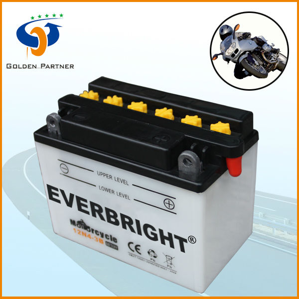 Fast deliver dry charged lead acid china lawn mower battery manufacture factory