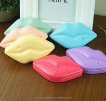 Custom freshlook Contact Lens Cases,Chinesses contact Lenses Plastic Case, multicolor lip Contact Lens Box