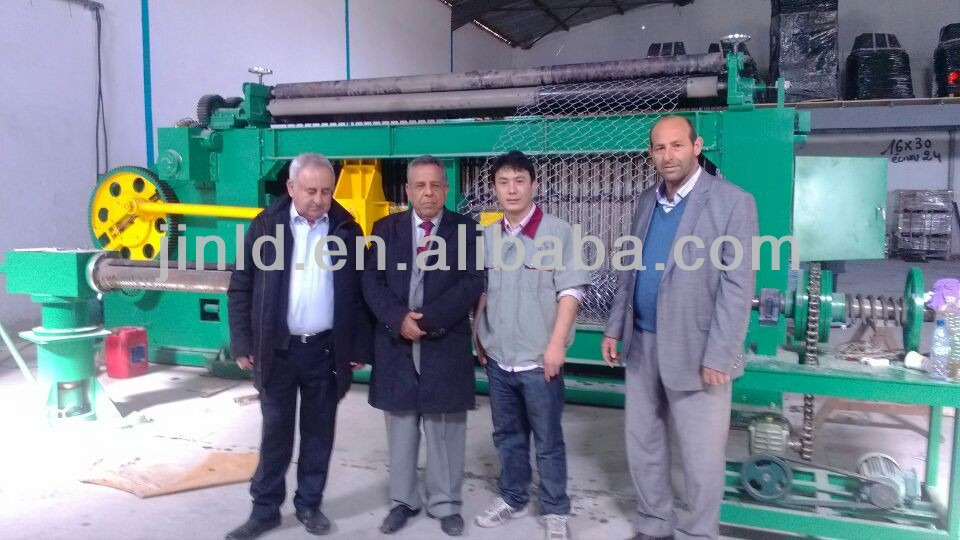 Automatic gabion mesh knitting machine supplier from China