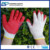 Durable String Knit 10 Gauge T/C Liner Latex Coated Red Cotton Glove