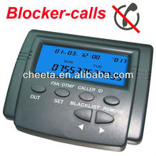Telephone Call Blocker w Blacklist and Whitelist