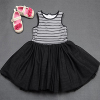 Party one piece young girl dress
