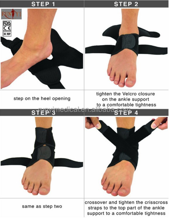 Healthy Sports Support Neoprene Waterproof Elastic Ankle Guard
