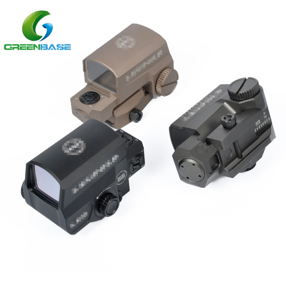 Greenbase Hunting Red Dot Optic Scope LP LCO Reflex Sight 1 MOA Dot Red Dot Tactical Sight