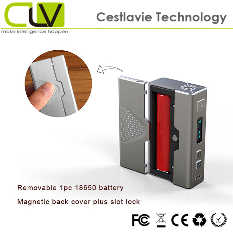changeable battery 18650 variable wattage VM box MOD kamry 30W V2 e cig china wholesale