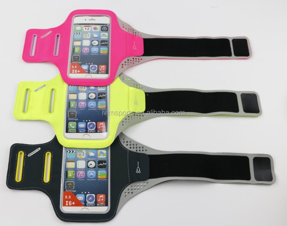 Cheap price Promotional Outing Sports Running Armband with private logo