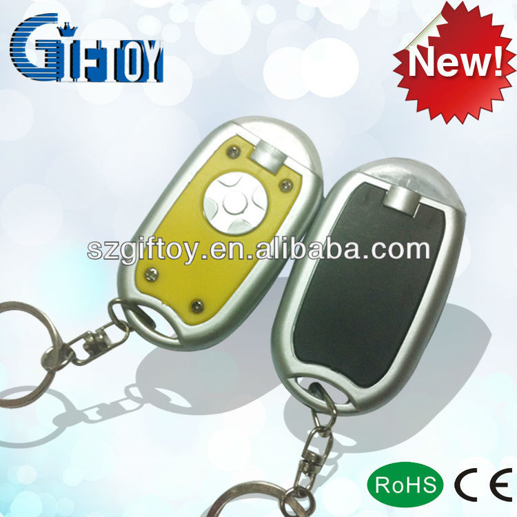 silver keyring/cool plastic keyring/promotion ABS keychain