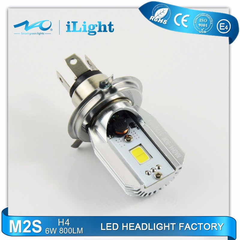 No have fan Wireless h4 led motorcycle headlight M2S
