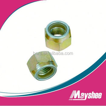 hex nylon locking nuts