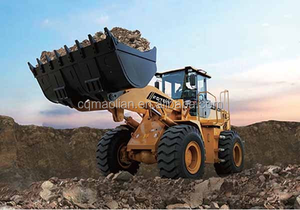 new arrival 2.8cbm Tractor Shovel Loader for Construction FL955F-ETX