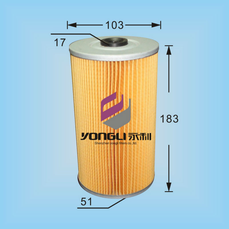 Oil Filter for Hino Truck S1560-72261