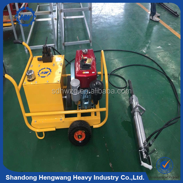 Hydraulic rock splitting tools/ stone splitters/ wedge for splitting stone