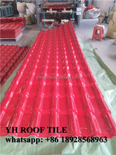 PVC roof tile plastic roof tile