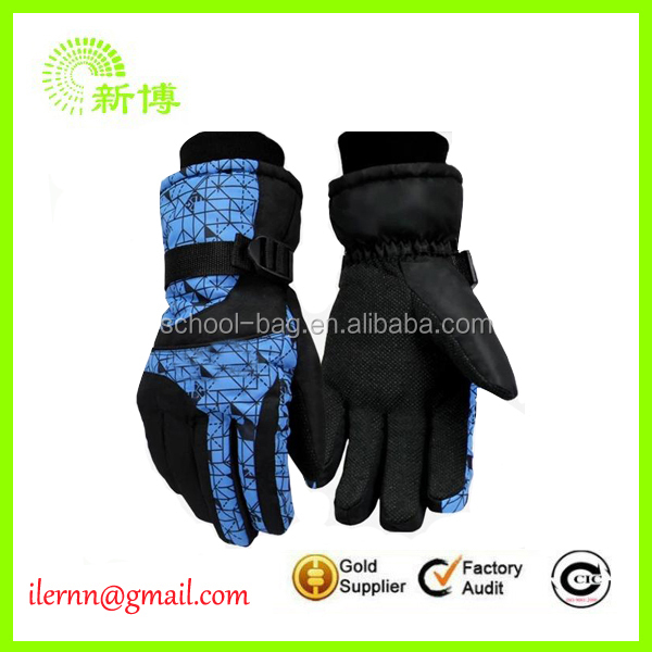 Wholesale men Training ski Gloves