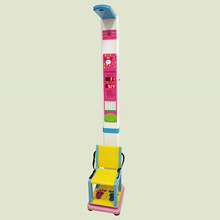 Children kids height weight and sitting height measuring machine medical electronic scale