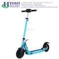 Front and behind shock absorption foldable electric scooter with big wheel two wheel scooter 30km/h long range