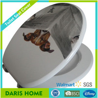Disposable Toilet Seat Cover Factory Printed, Plastic Custom Made Toilet Seat Cover Price