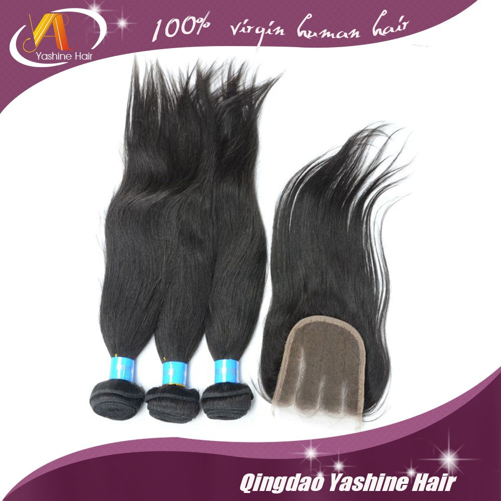 full cuticle long silky straight human hair weave easy to manage and style relaxed straight hair