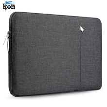 2018 Customized spill-resistant lightweight small portable dark grey sleeve laptop,15.6 inch case bag