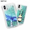 fashion Quicksand liquid water bling case for samsung galaxy J4 J6 J8 2018 UV glitter liquid phone case for iPhone xs plus