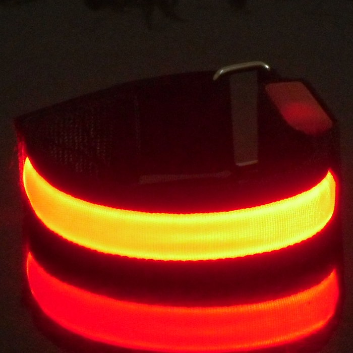 Fashion accessories elastic light led wristband