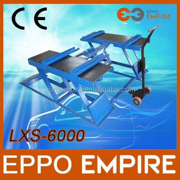 2015 hot sale new CE approved high quality hydraulic scissor lifts/lifting equipment/used motorcycle lifts