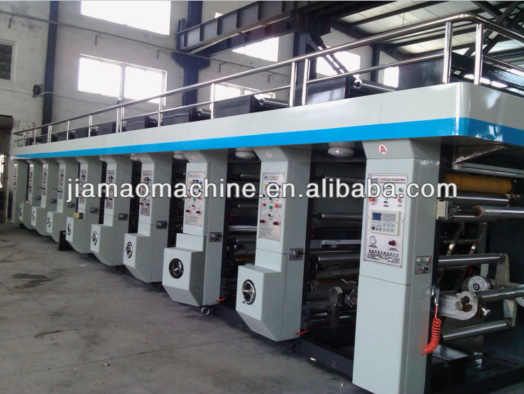 JMHS-B Model Computer Color Register High-Speed Gravure Printing Machine,Computer automatic rotogravure printer