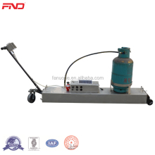 Infrared Gas Heater for Asphalt Crack Repair