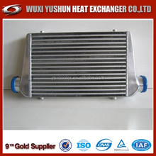 plate and bar universal water to air intercooler