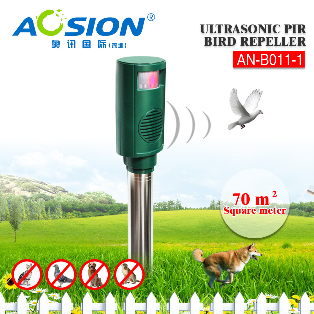 Aosion AN-B011-1 Battery Ultrasonic Bird Stop